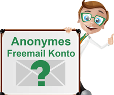 Anonymer Email Konto Account